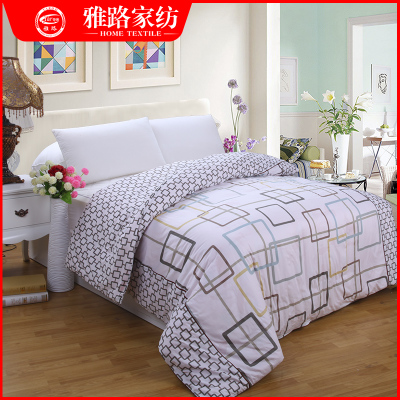 Cotton quilt cotton quilt bedding Pastoral stylish simplicity single textile thick quilt Nga Road shipping