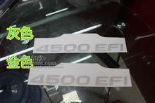 Land cruiser 4500 4700 LC80 lc100 4500 EFI car stickers