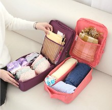 They travel packages mailed underwear to receive package Portable portable cosmetic bag toiletry bags The bra finishing package