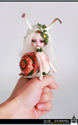 chateau Larry 小蜗牛 1/4BJD SD娃娃 doll 小宠物