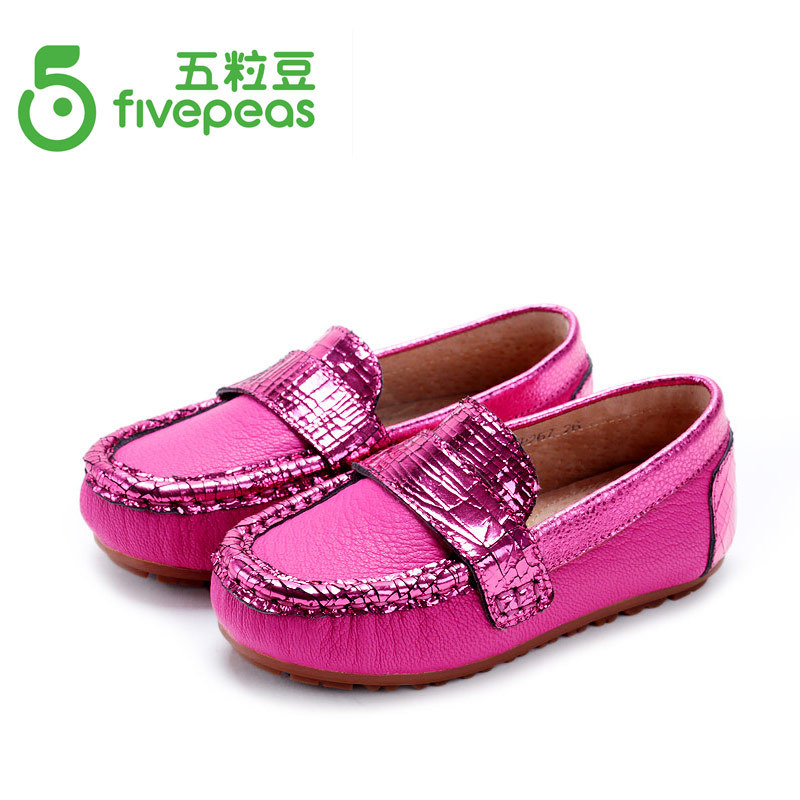 2015 Children princess shoes genuine leather shoes