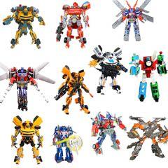 变形金刚超变战神终极版擎天柱机器人恐龙钢索托马斯机器人玩具
