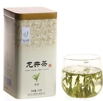 The package mail special offer authentic yi jiangnan super longjing tea 42.00 100 g