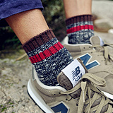 Retro men in tube socks thick cotton socks male socks autumn and winter tide male personality national wind sports stockings
