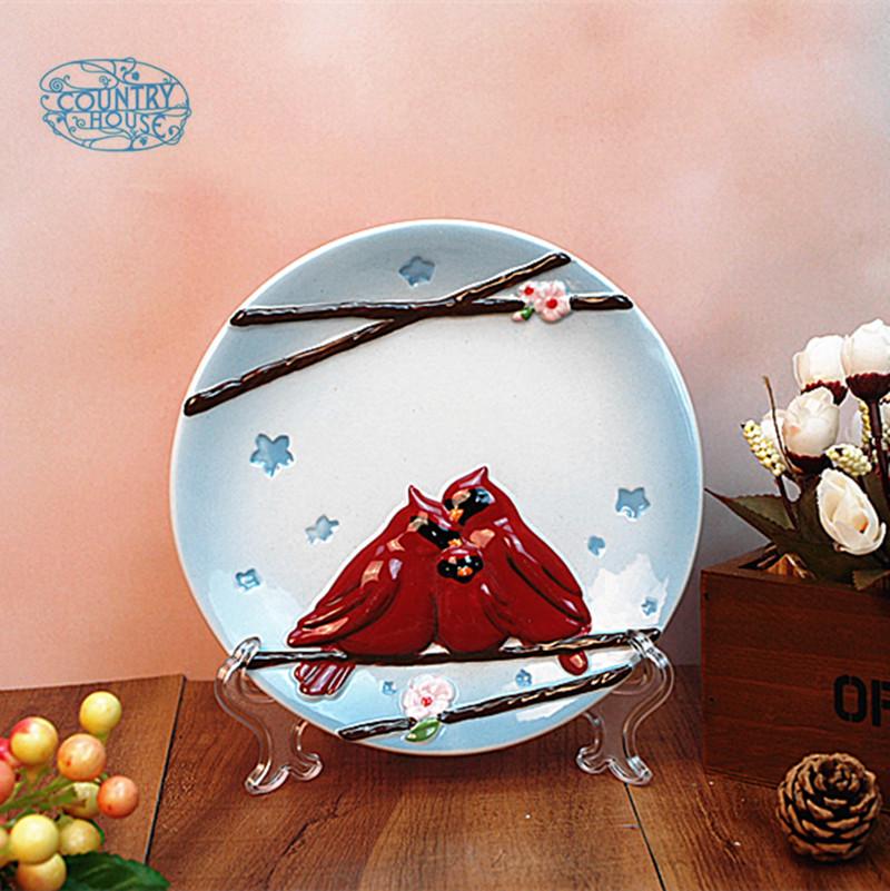 Декоративная тарелка Jin Ming ceramics 913089