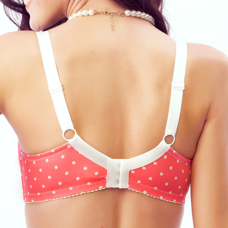 Obesity embroidery large size full cup bra thin dot wave point lovely comfortable underwear bra cup BCDEF
