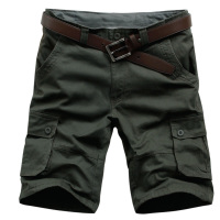 Summer Men's Army Cargo Work Casual Bermuda Shorts男工装短裤