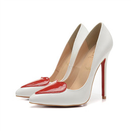 patent leather shoes women high heel luxury brand red bottom