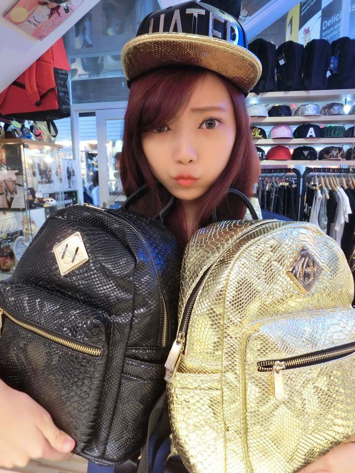 HATER Small Snake Skin Backpack 背包 小号蛇纹包 5色入