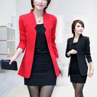 2016秋装新款韩版女西装休闲西服外套 通勤OL修身显瘦 女 包邮