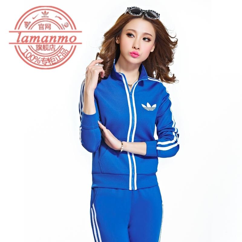 к 2015 году весна новый стиль adidas клевер женщин мода случайные кардиган тонкий тонкий Корейский спортивной одежды