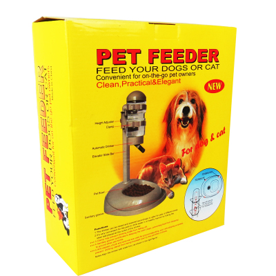 Dr. pet cats and dogs with drinking bottle with sucker rod feeding pots / kettles can lift water watering feeding