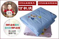 儿童被子 夏季薄 幼儿园午睡全棉花被 婴儿宝宝春秋棉被纯棉水洗