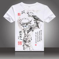 火影忍者T恤 鸣人宇智波鼬佐助二次元动漫周边短袖学生夏季上衣服