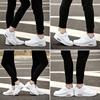 2018春季小白气垫运动鞋男士休闲百搭情侣款学生白鞋跑步鞋男透气