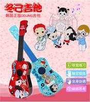 儿童尤克里里可弹奏仿真四弦小吉他兴趣培养益智小孩早教玩具