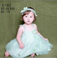 新款儿童摄影服饰1-2岁女童蓬蓬裙批发韩版影楼写真造型服装特价