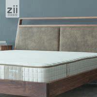 灵动致家 朝歌床垫/天然麻棕进口乳胶床垫/弹簧偏硬亚麻棕垫床垫
