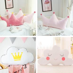 抱枕ins可爱软包网红床头靠垫大靠背公主卧室床上双人靠枕头