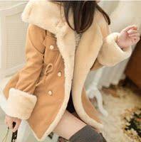 16秋冬季韩版加厚17青少年学生毛呢子大衣18岁少女外套19棉衣女20