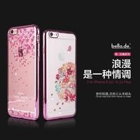 贝拉记 iphone6plus手机壳超薄防摔苹果6plus保护套全包5.5硬壳