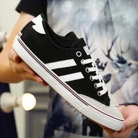 帆布鞋男夏季单鞋低帮经典款板鞋日常休闲鞋男士布鞋学生平板潮鞋