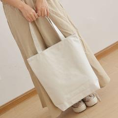 手绘白板包帆布包帆布包环保袋手绘包纯色白色单肩手提包