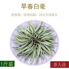 2018新茶 云南普洱茶生茶 白毫银针 大白毫单芽 散茶500g芽茶