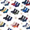 素人工作室运动袜子女棉中筒袜男潮学院风韩国高长袜街头欧美