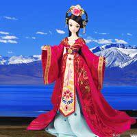正品可儿娃娃 中国公主 文成公主 10关节体女孩玩具娃娃 和亲9099