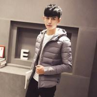 新款韩版男士棉衣