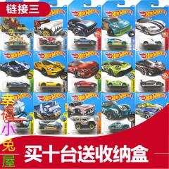 美泰风火轮火辣小跑车合金车模Hotwheels轨道赛道车玩具链接三 9A