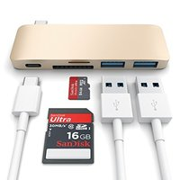 现货Satechi macbook12 Type-C USB-C转usb3.0Hub读卡器盒装现货