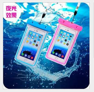 水下拍照手机防水袋温泉游泳通用iphone6plus触屏密封包6s潜水套