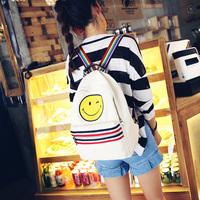 95019#尚品网供 笑脸帆布双肩包  加厚帆布 超好品质