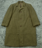 85新~英国制 GODLEE WOL TWEED COAT~女款 阔体