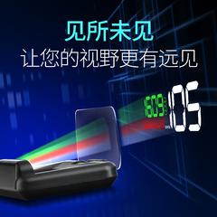 汽车抬头显示器车载HUD高清投影仪汽车通用时间车速油耗显示器