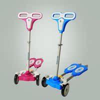 四轮儿童滑板车折叠活力车踏板童车摇摆车玩具车蛙式扭扭车粗钢管