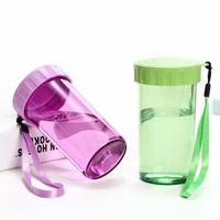 特百惠水杯塑料杯正品学生便携防漏杯儿童运动水壶太空杯随手杯子
