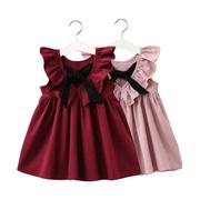 女童连衣裙幼儿童1全棉洋气公主裙3岁2女小宝宝夏装5儿童装裙子夏
