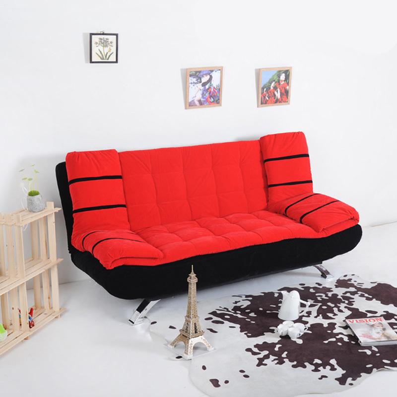 Диван Съемный раскладной диван и раскладное тип малых многоцелевых ткани 3 местный диван кровать