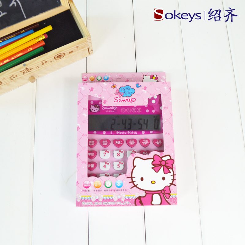 Калькулятор 578  Hello Kitty KT838A