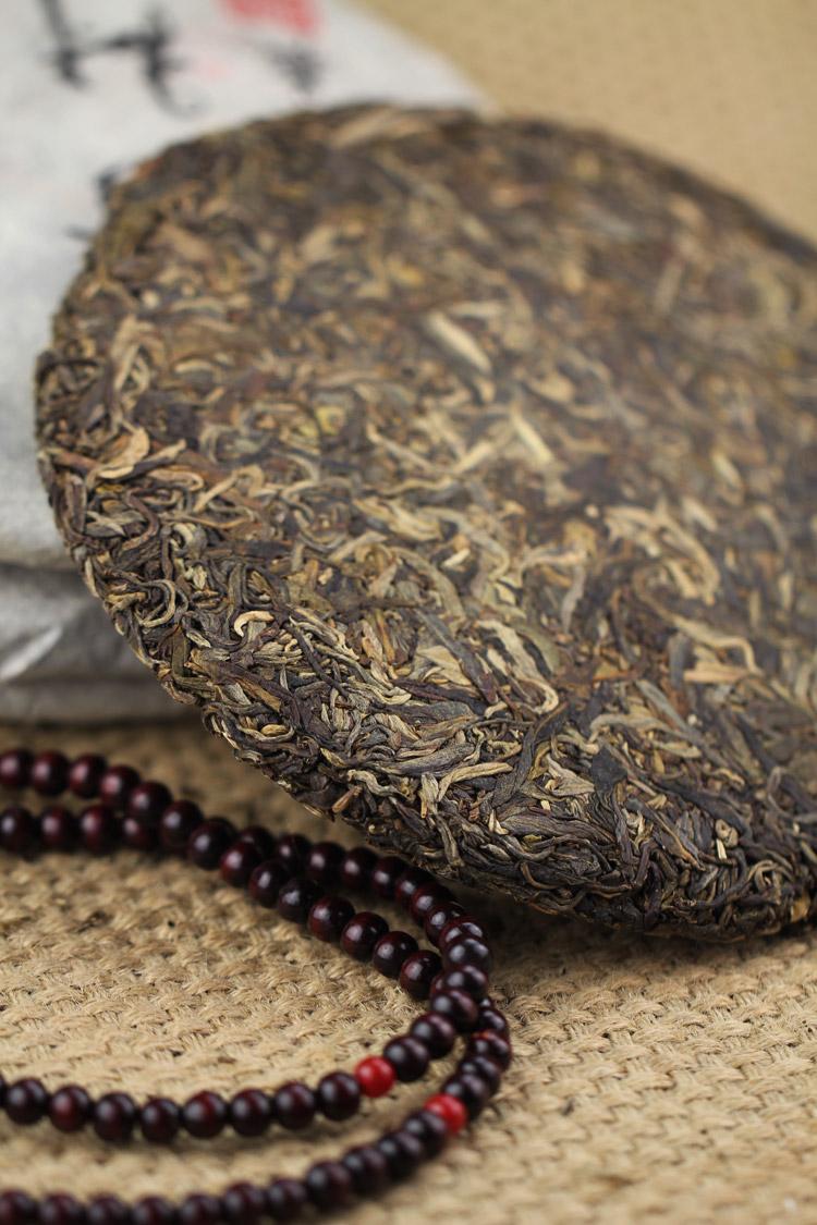 2006年景迈明前古树茶357克最高等级纯料生饼 - 阎红卫 - 阎红卫经赢之道策划产业联盟