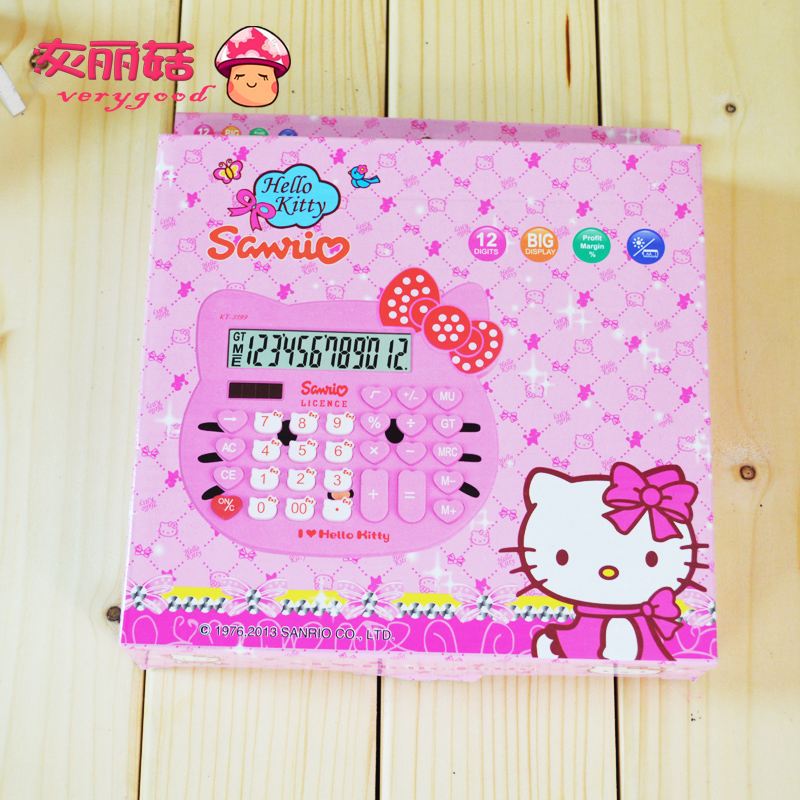 Калькулятор 888  Hello Kitty Kt 3399