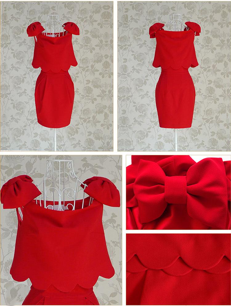Как украсить платье тканью 156