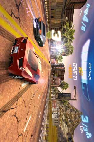都市赛车6 HTC版