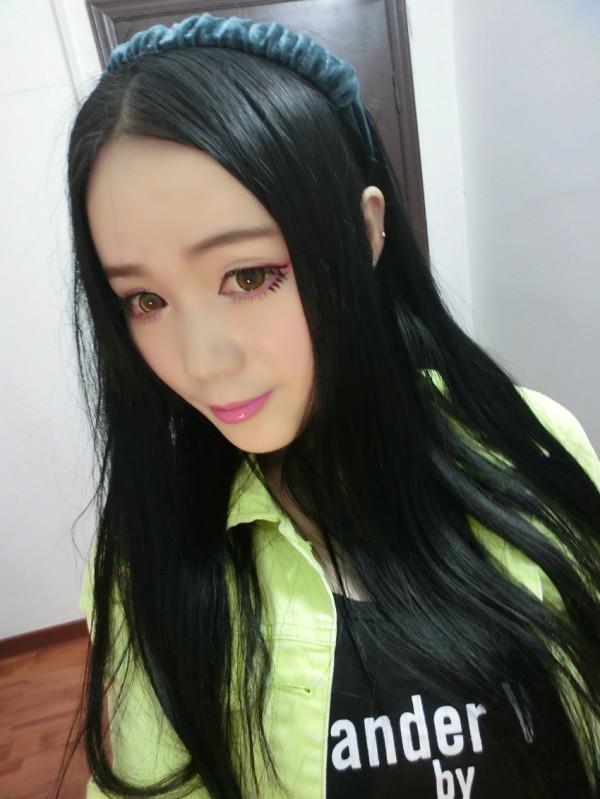 ★★★美妆秀★★★超粉嫩萌系搞怪妆容 - Ann3莲 - 莲Anna