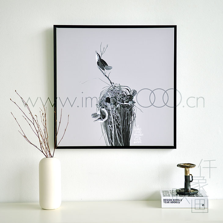 Thousands like Pictures Pictures like the Bird's Nest thousand office den living room bedroom mural painting frame painting decorative painting canvas
