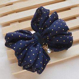 金点雪纺布料 布艺DIY手工蝴蝶结发饰材料饰品配件批发,布艺 上海图片