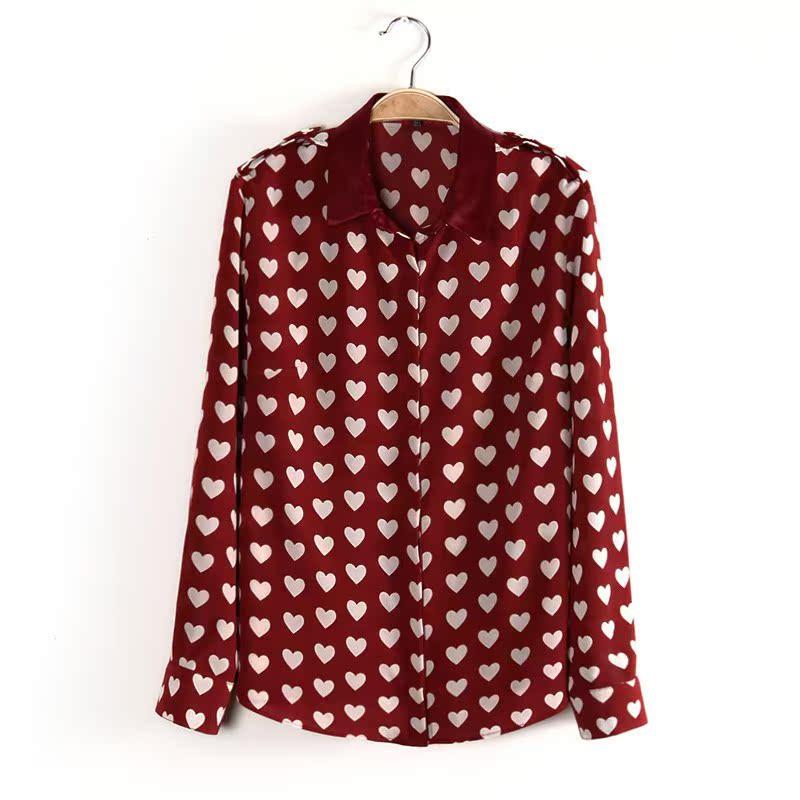 женская рубашка 8027 2014